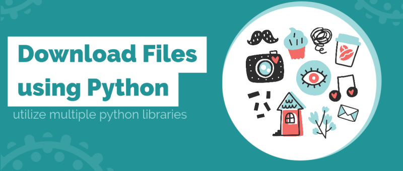How to download files using python